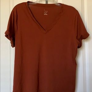 A New Day V-Neck tee size XL